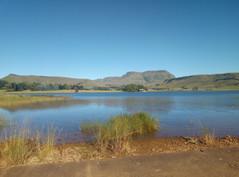 Dawn lakes at Sani Valley