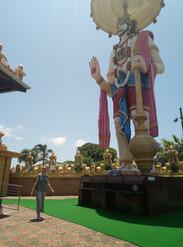 Jai Hanuman Statue, Chastworth