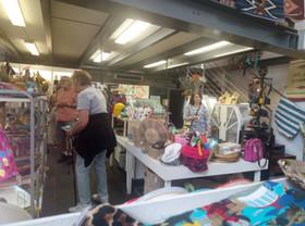Souvenir shopping at the KZNSA