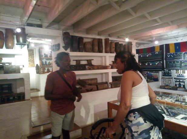 Private tour at Phansi Musuem