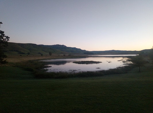 Dusk at Sani Valley