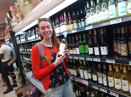 Buying South African Wine in South Africa!