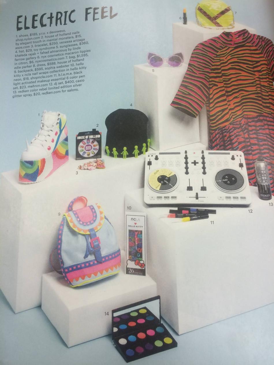 3D AlienBeanie in Nylon Magazine
