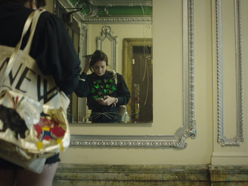 3D butterfly sweatshirts featured on the 'Selfie' episode of High Maintenance HBO