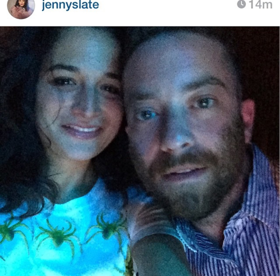 3D SpiderCrop Shirt worn by Jenny Slate during her Big Terrific Performance