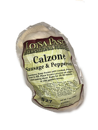 Sausage & Pepperoni Calzone