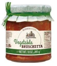 Konex Foods Vegetable Bruschetta