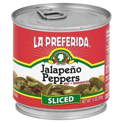 La Preferida Sliced Jalapeno Peppers
