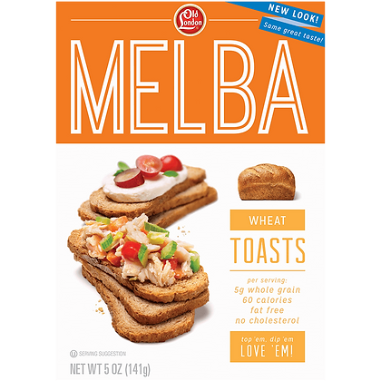 Old London Melba Wheat Toast