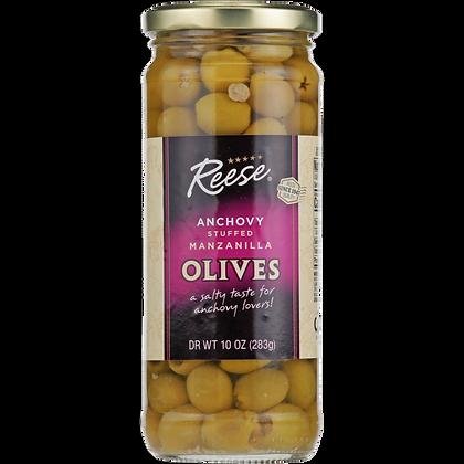 Reese Anchovy Stuffed Manzanilla Olives