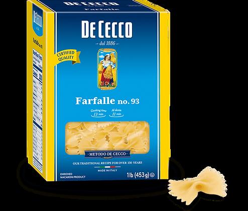 DeCecco Farfalle #93