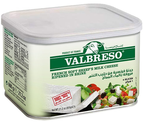 Valbreso French Sheep's Milk Feta (21.2 oz)
