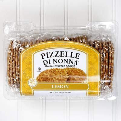 Pizzelle Di Nonna Lemon