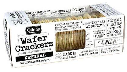 Olina's Natural Wafer Crackers