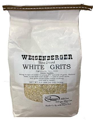 Weisenberger Stone Ground White Grits