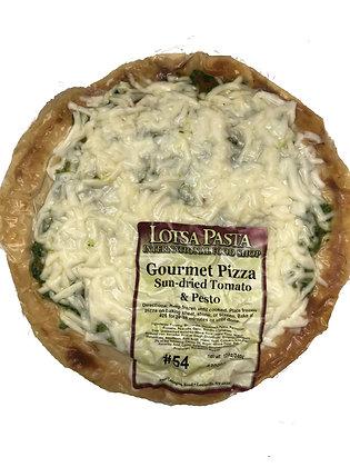 Sun-dried Tomato Pesto Gourmet Pizza