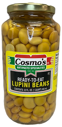 Cosmo's Lupini Beans (32 oz)