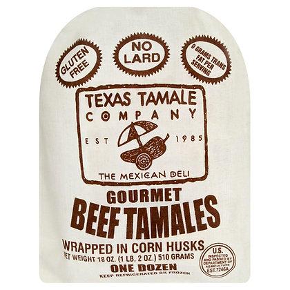 Texas Tamale Beef Tamales