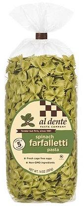 Al Dente Spinach Farfalletti