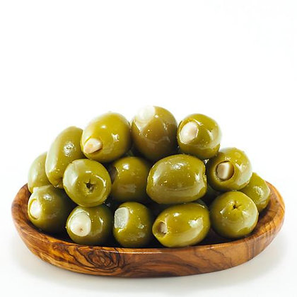 Greek Olives with Garlic
