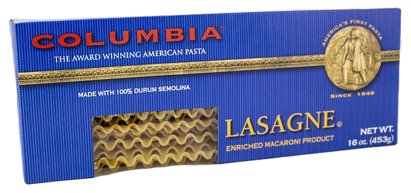 Columbia Lasagne