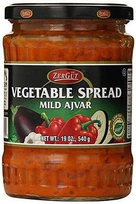 Zergut Vegetable Spread (Mild)