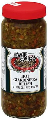 Dell 'Alpe Hot Giardiniera Relish (16 oz)