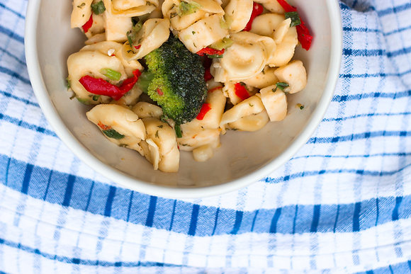 Cheese Tortellini Pasta Salad