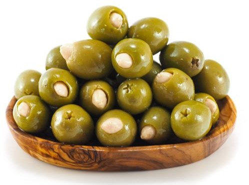Greek Olives with Almonds