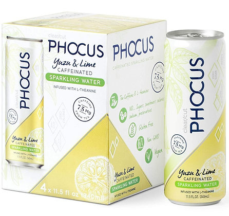 Phocus Yuzu Lime (4 pack)
