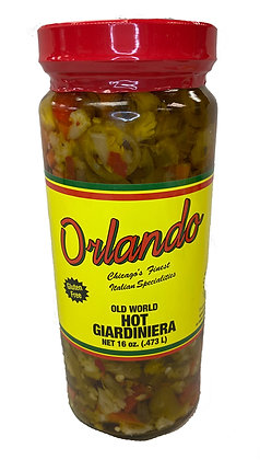 Orlando Hot Giardiniera (16 oz)