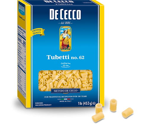 DeCecco Tubetti #62