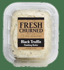 Fresh Churned Black Truffle Butter