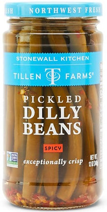 Tillen Farms Pickled Dilly Beans (spicy)