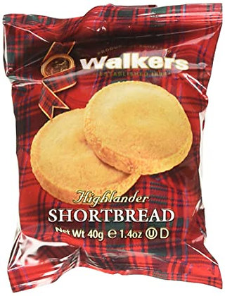 Walkers Shortbread Highlanders Cookies (1.2 oz)