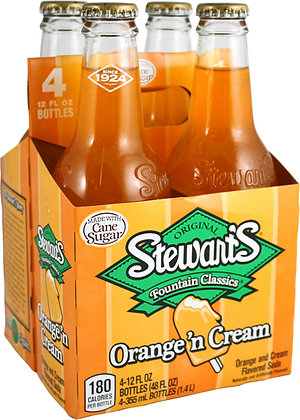 Stewart's Oranges 'n Cream (4-pack)