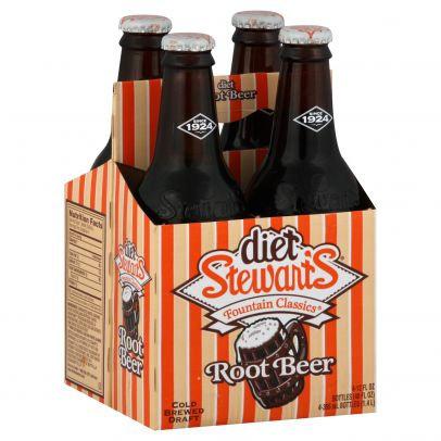 Stewart's Diet Root Beer (4-pack)