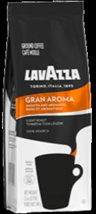LavAzza Gran Aroma Light Roast Ground Coffee