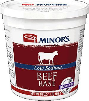 Minors Low Sodium Beef Base