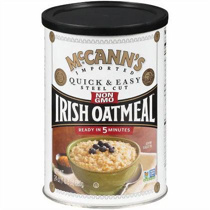 McCann's Irish Quick & Easy Steel Cut Oats