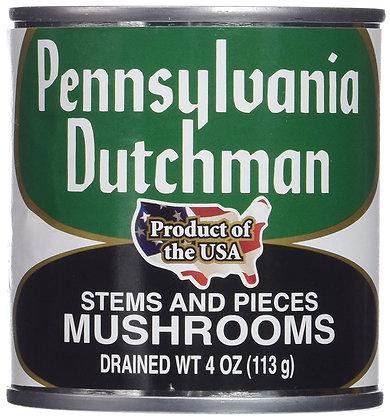 Pennsylvania Dutchman Mushrooms