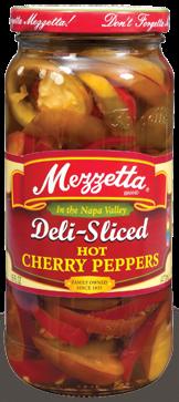 Mezzetta Deli-Sliced Hot Cherry Peppers
