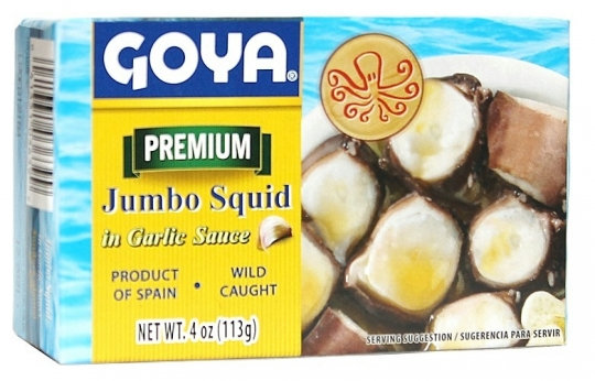 Goya Jumbo Squid in Garlic Sauce