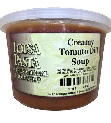 Creamy Tomato Dill