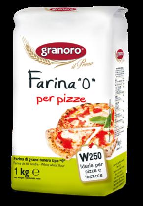 """Granoro Pizza Flour / Farina """"0"""""""