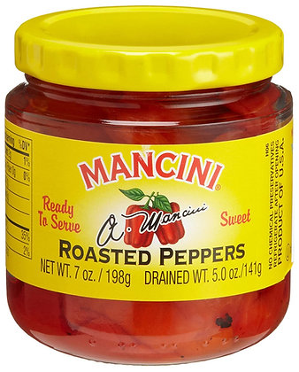 Mancini Sweet Roasted Red Peppers (7 oz)