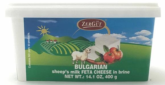 Zergut Bulgarian Sheep's Milk Feta (14.1 oz)