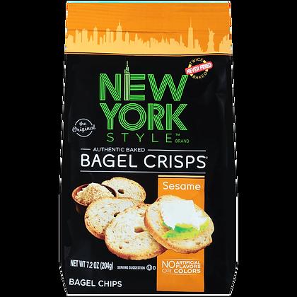 New York Style Bagel Crisps - Sesame