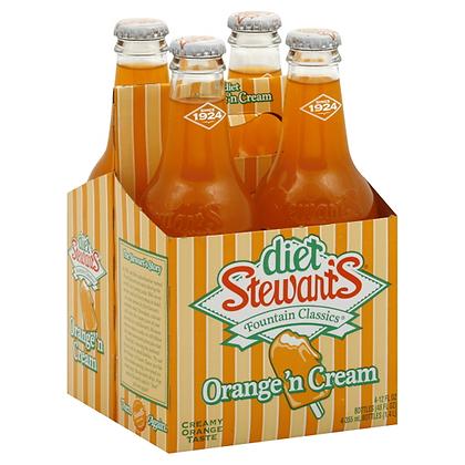 Stewart's Diet Oranges 'n Cream (4-pack)