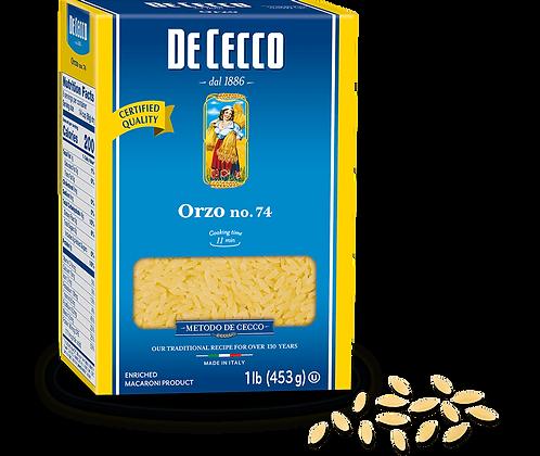 DeCecco Orzo #74